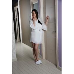 Kimono jetable Femme avec poche