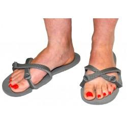 Sandale gris