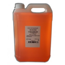 Huile de massage orange-cannelle 5L