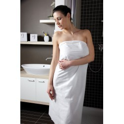 Drap de bain jetable blanc
